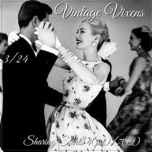 WEDNESDAY 3/24 Vintage Vixens Sign Up Sheet